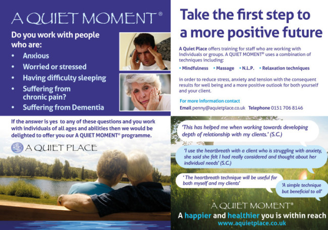 AQP Moment leaflet